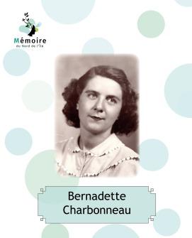 Bernadette Charbonneau - Témoignage fictif